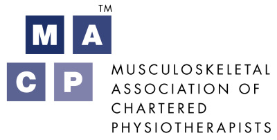 Musculoskeletal Association of Chartered Physiotherapists (MACP) logo